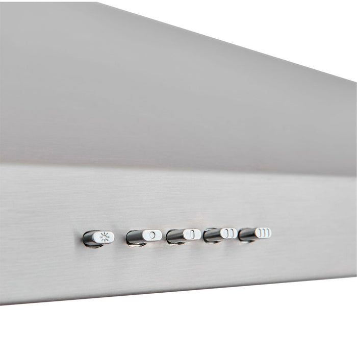 Cooke & Lewis CLCHS60 Chimney Cooker Hood Inox Stainless Steel - Image 4
