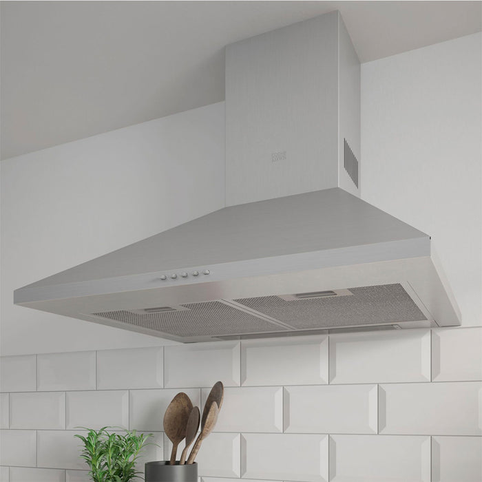 Cooke & Lewis CLCHS60 Chimney Cooker Hood Inox Stainless Steel - Image 7