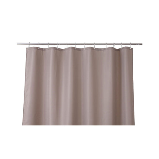 Cooke & Lewis Cecina Greige Waffle Shower Curtain (L)1800 mm - Image 1