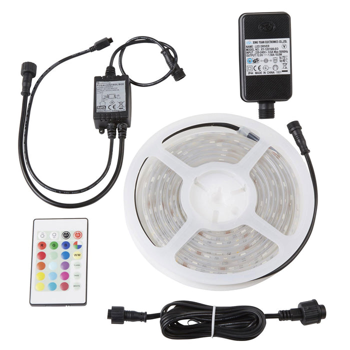 Colours Emmett LED Multicolour Strip Light IP65 400lm 3m Lenght - Image 1