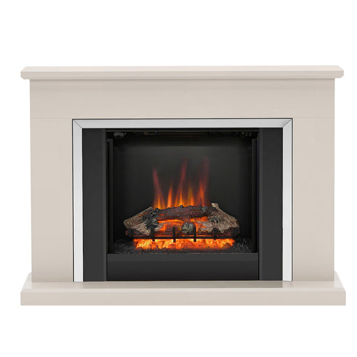 Be Modern Ashburnham Electric Fire Suite Matt Cashmere Black Finish - Image 1