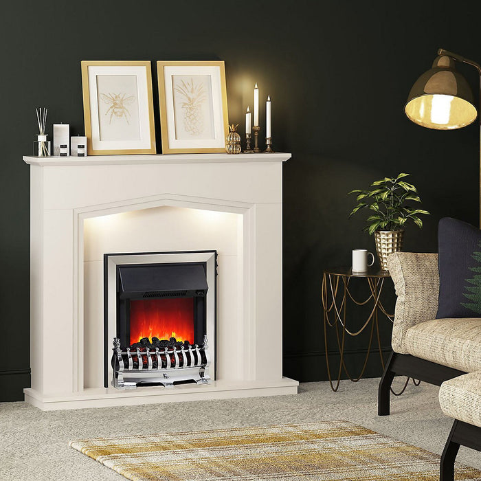Be Modern Beauport Cashmere Electric Fire Suite - Image 2