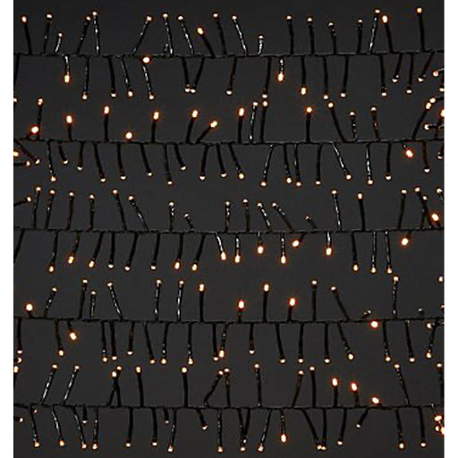 1000 Cluster String Lights Warm White LED Weather-resistant Indoor and Outdoor - Image 1