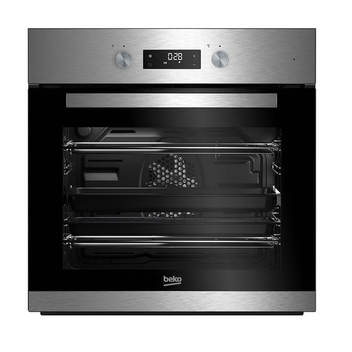 Beko Integrated Oven 600mm Electric Black Single Multifunction BQM22301XC - Image 1