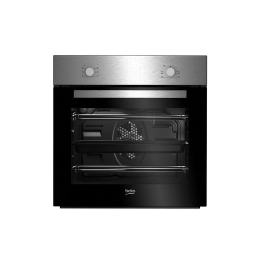 Beko Set Multifunction Built in Oven and Ceramic Hob Pack QSE222X Black Single - Image 1