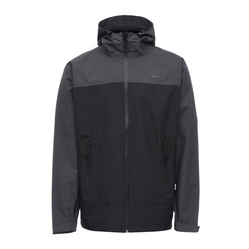 Site Jacket Waterproof Black Grey Colour Windstopper With Hood Size M - Image 1