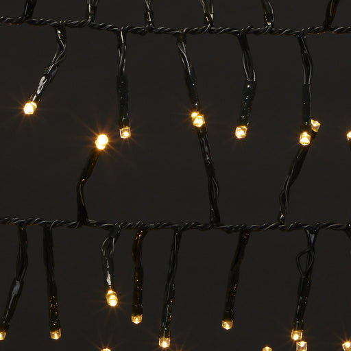 300 LED Cluster String Light Smart Warm White & Multicolour Indoor and Outdoor - Image 1
