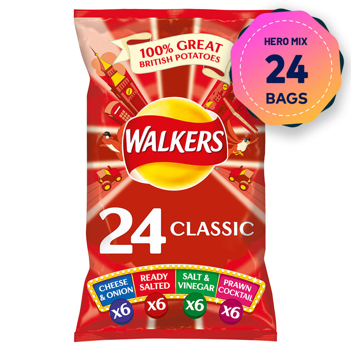 Walkers Mixed 81 Bags Crisps Doritos Monster Quavers Cheese Chicken Thyme Baked - Image 8
