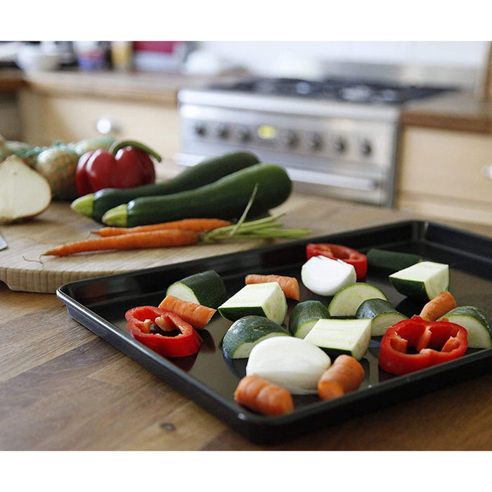 Tala Performance Baking Tray 25x18cm Steel Black Half Sized 10A10674 Non-Stick - Image 4