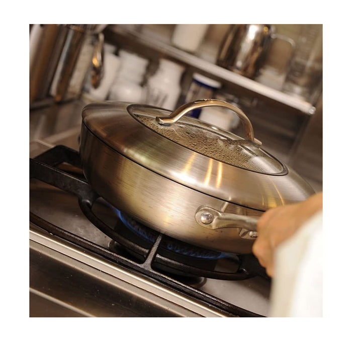 Scanpan CTX 26 cm Saute Pan with Lid - Image 4