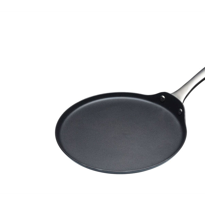 KitchenCraft Crêpe and Pancake Pan Master Class Carbon Steel Induction-Safe 24cm - Image 2