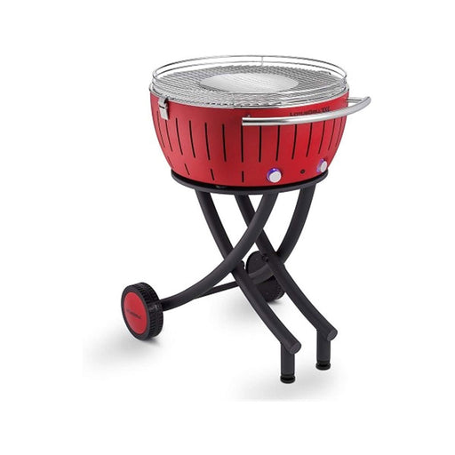 LotusGrill Barbecue Garden Grill XXL Red Charcoal Wheels 60x48.8x28.4 cm - Image 1