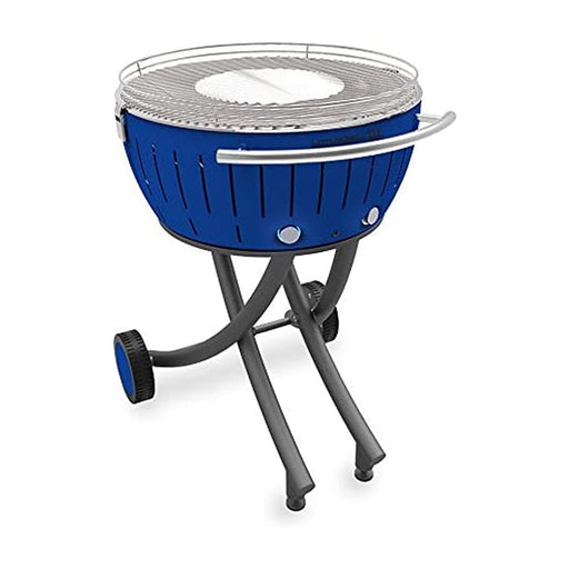 LotusGrill Barbecue Charcoal Garden Grill LOLG-TB-600 Deep Blue XXL Dia 57.6cm - Image 1