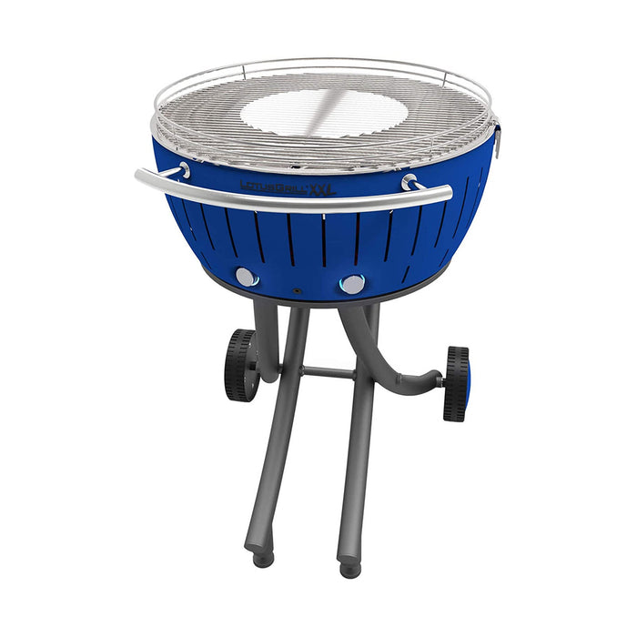 LotusGrill Barbecue Charcoal Garden Grill LOLG-TB-600 Deep Blue XXL Dia 57.6cm - Image 2
