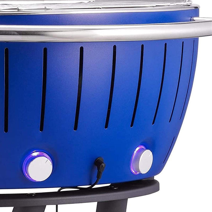 LotusGrill Barbecue Charcoal Garden Grill LOLG-TB-600 Deep Blue XXL Dia 57.6cm - Image 7