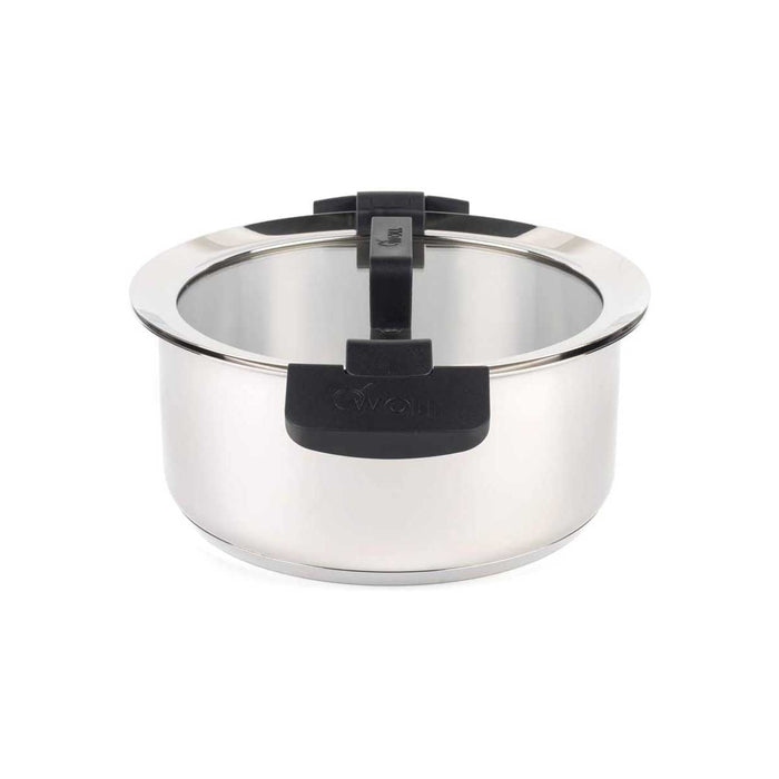 Woll Casserole Pot with Glass Lid 24 cm Stainless Steel - Image 2