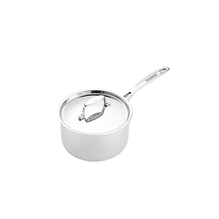 Scanpan Fusion 5 Saucepan Set 3 Piece Stainless Steel With Lids - Image 2