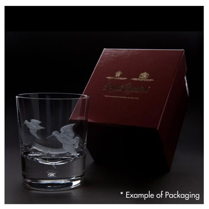 Engraved Salmon Tumbler Single Clear 30cl Hand made Free-hand Engraved - Image 2
