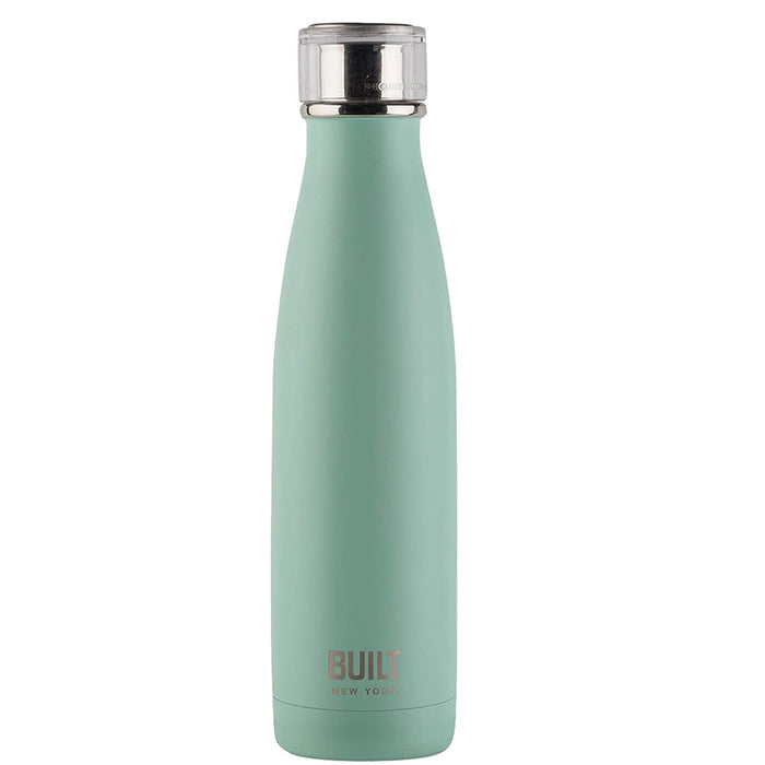 BUILT Perfect Seal Double-Walled Insulated Stainless Steel Drinks Bottle 480 ml - Image 2