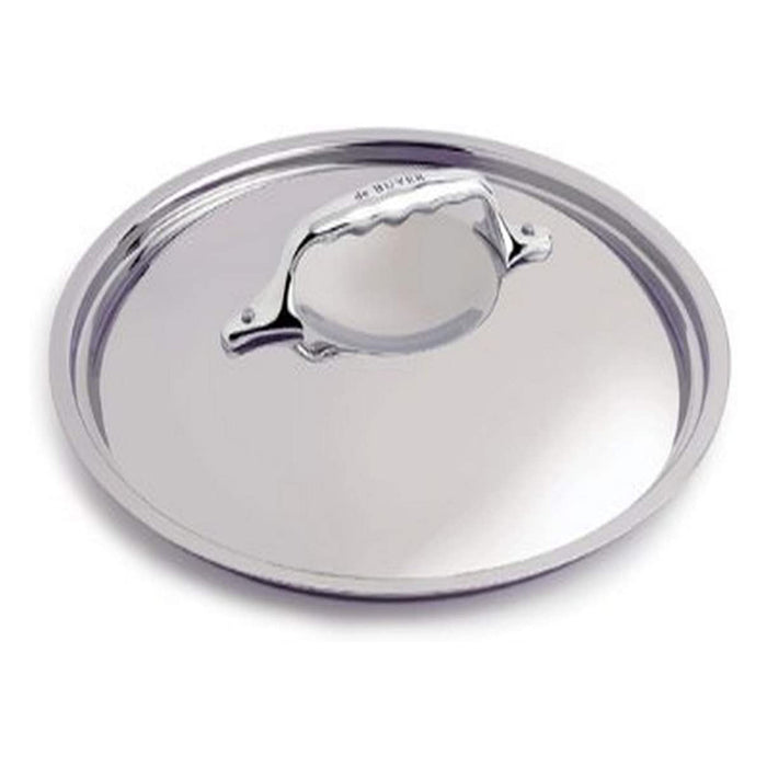 De Buyer 3709.18 Affinity Stainless Steel Lid, 18 cm Diameter - Image 1