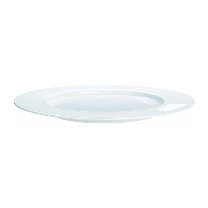 ASA Fine Bone China Plate Warm White 24 cm - Image 1