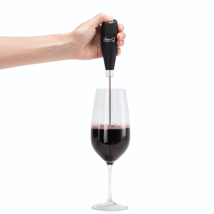 Cellar Dine Electronic Wine Breather Rouge O2 EWB12 Reusable Black - Image 4