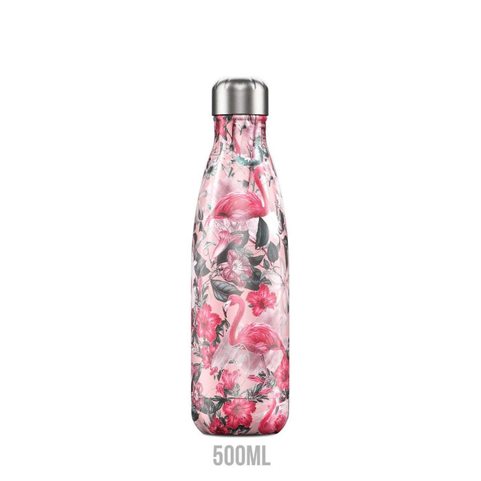 Chilly's Bottles Double Walled Vacuum Bottle - Flamingo 500ml - Image 2