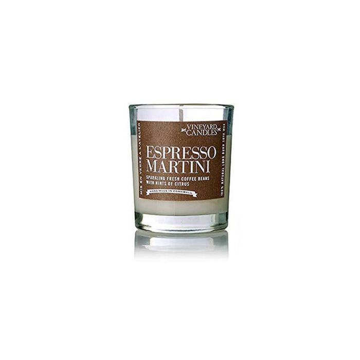 Vineyard Candle Shot Glass Espresso Martini Candle Up to 40 hours Burn - Image 1