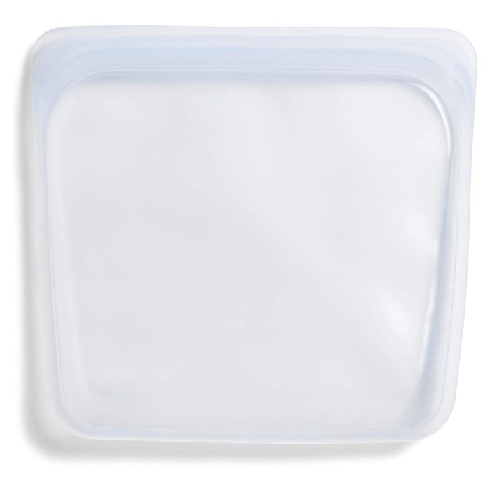 Stasher Re-Usable Sandwich Bag Food-Grade Platinum Silicone Organising/Travelling - Image 1