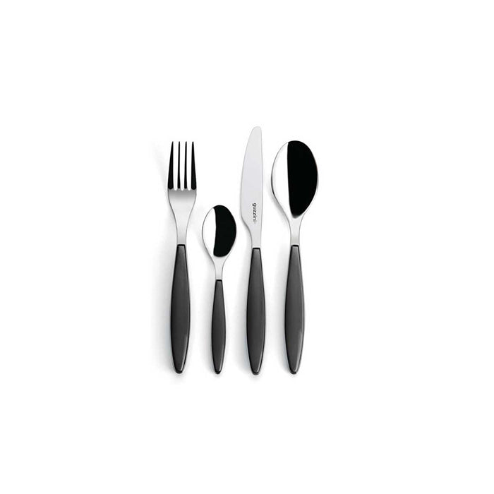Guzzini 24 Pieces Cutlery Set Feeling Grey - Image 2