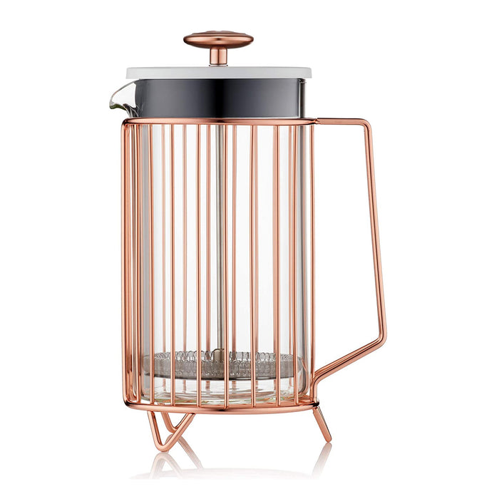 Barista & Co CD 8 Cup Corral Coffee Copper-French Press Aluminium - Image 1