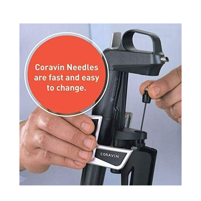 Coravin Wine Preservation System 3 Needle Kit Black - Image 6
