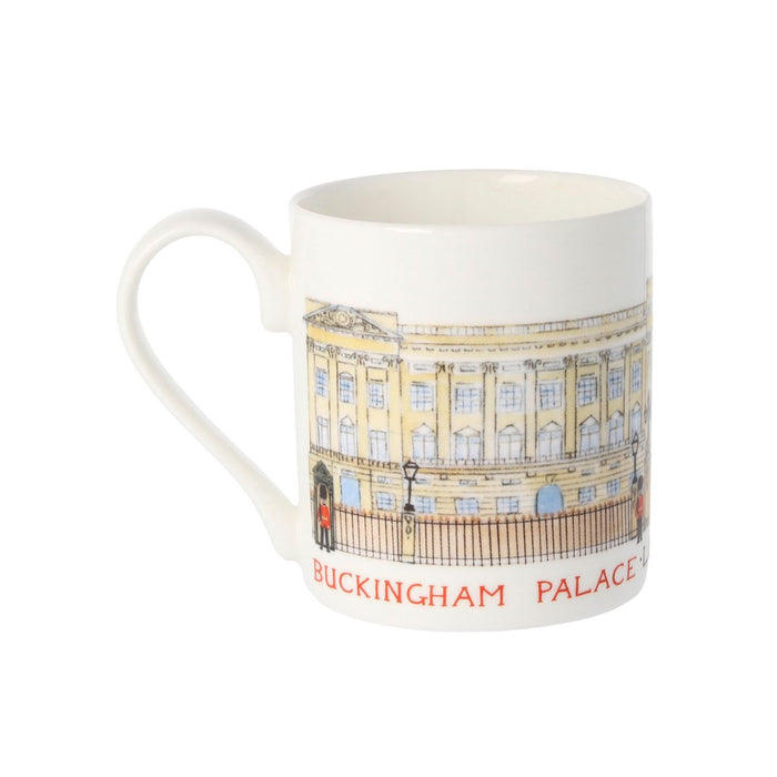 Louise Tate China Mug Buckingham Palace 350ml - Image 1