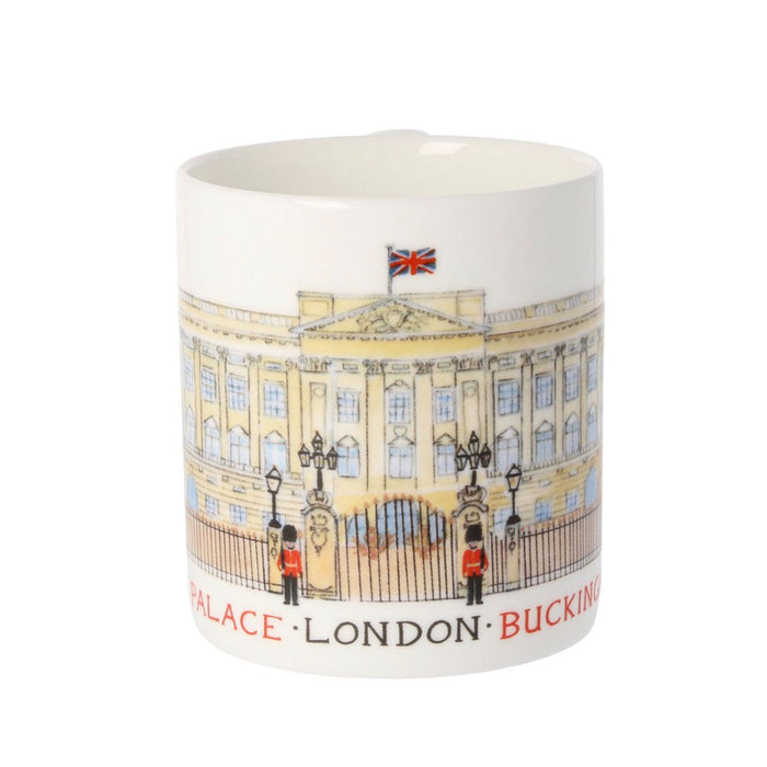 Louise Tate China Mug Buckingham Palace 350ml - Image 2