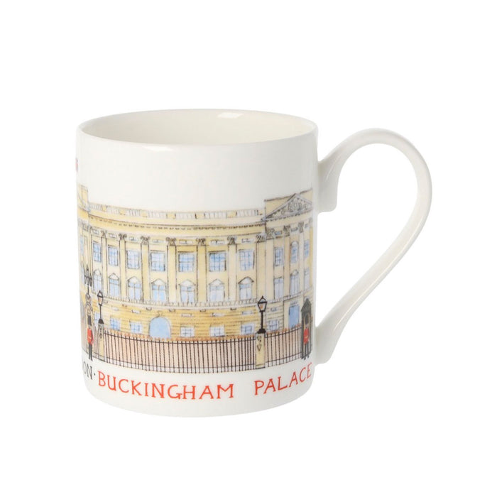 Louise Tate China Mug Buckingham Palace 350ml - Image 3