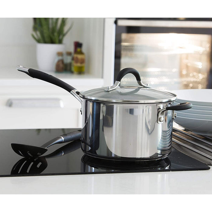 Circulon With Lid Momentum Stainless Steel Non Stick 24cm 5.7 litres - Image 3