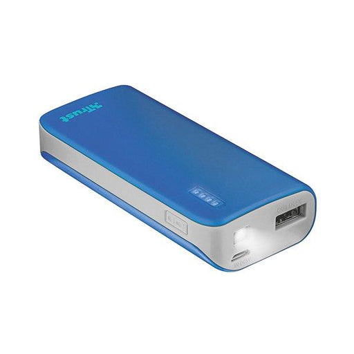 Trust Urban Primo 4400 mAh Power bank Portable Charger for Smartphone (Blue) - Image 1
