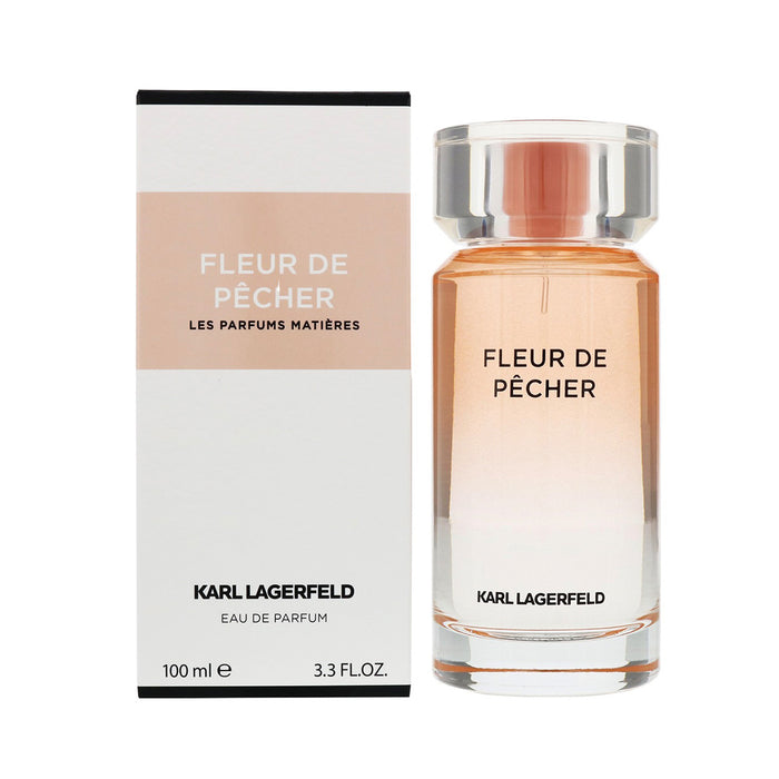 Perfume Karl Lagerfeld Fleur de Pecher Eau de Parfum Spray 100ml For Her - Image 3