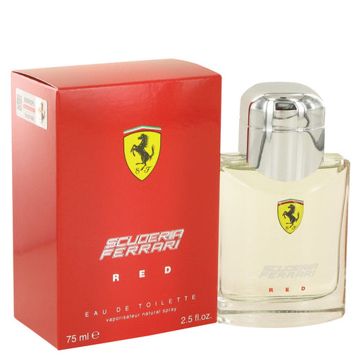 Ferrari Scuderia Red Cologne For Him - Image 1