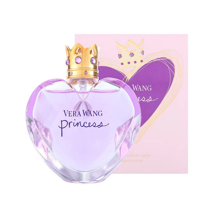 Perfume Vera Wang Princess Eau de Toilette Spray 50ml For Her - Image 3