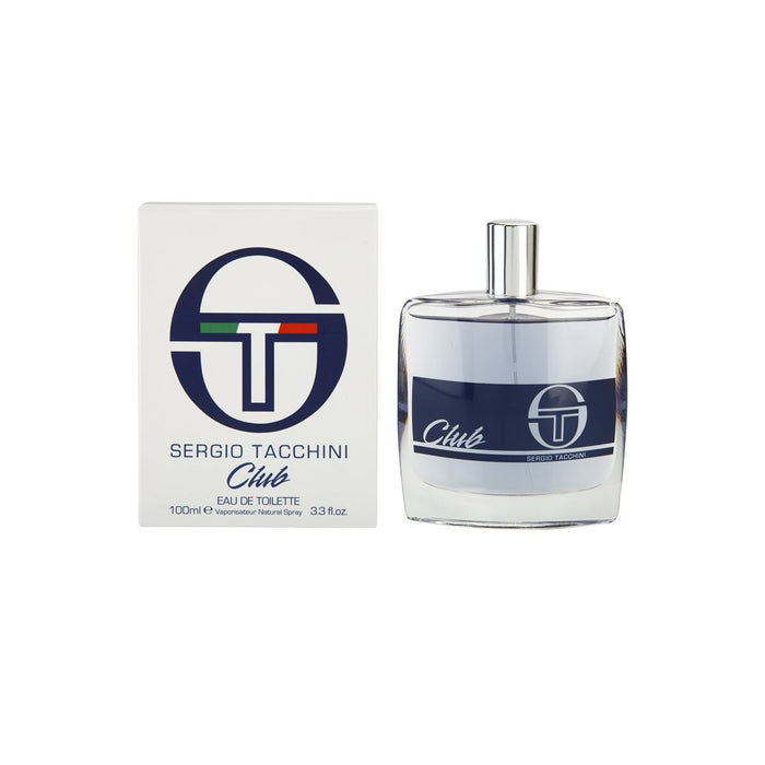 Sergio Tacchini Club eau de toilette for Men 100ML For Him - Image 1
