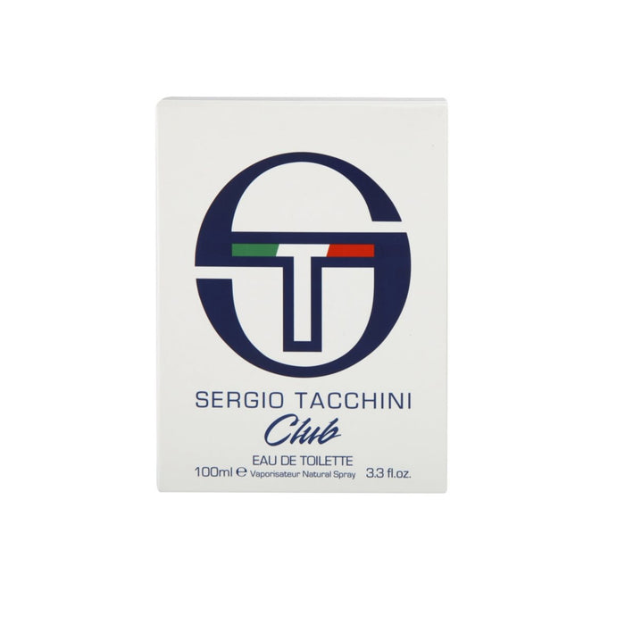 Sergio Tacchini Club eau de toilette for Men 100ML For Him - Image 3