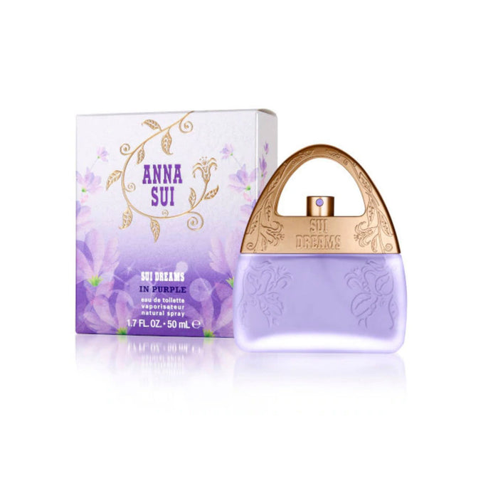 Perfume Anna Sui Sui Dreams Purple 50ml EDT For Her - Image 1