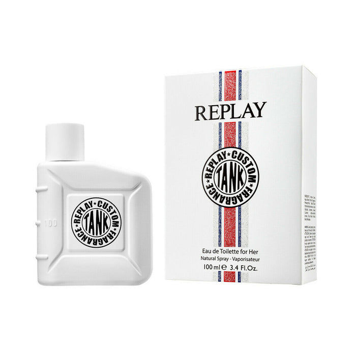 Perfume Replay Tank Custom For Her Fragrance Eau De Toilette 50ml For Her - Image 1