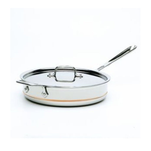 All-Clad Sauté Pan Copper Core 25 cm 3 Qt. 2.8 L With Lid Induction Compatible - Image 1
