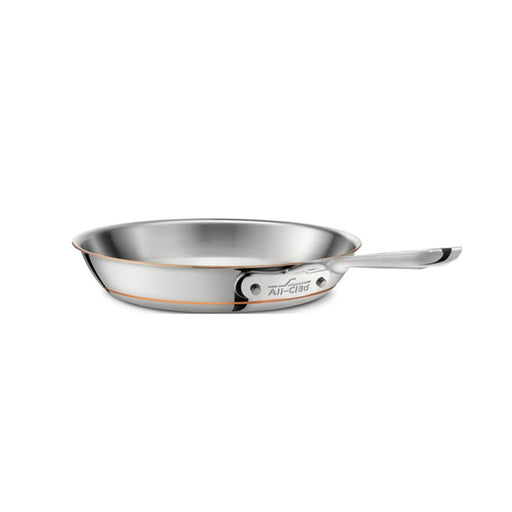 All-Clad Copper Core Chef's Pan With Withdomed Lid 12 inch Induction Compatible - Image 1