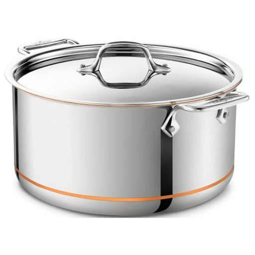 All-Clad Stockpot with Lid Copper Core 5-Ply Bonded Dishwasher Safe 28cm 7.5L - Image 1