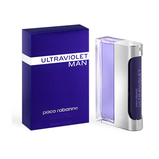 Genuine Perfume Paco Rabanne Ultraviolet Man Eau de Toilette Spray 50ml - Image 1