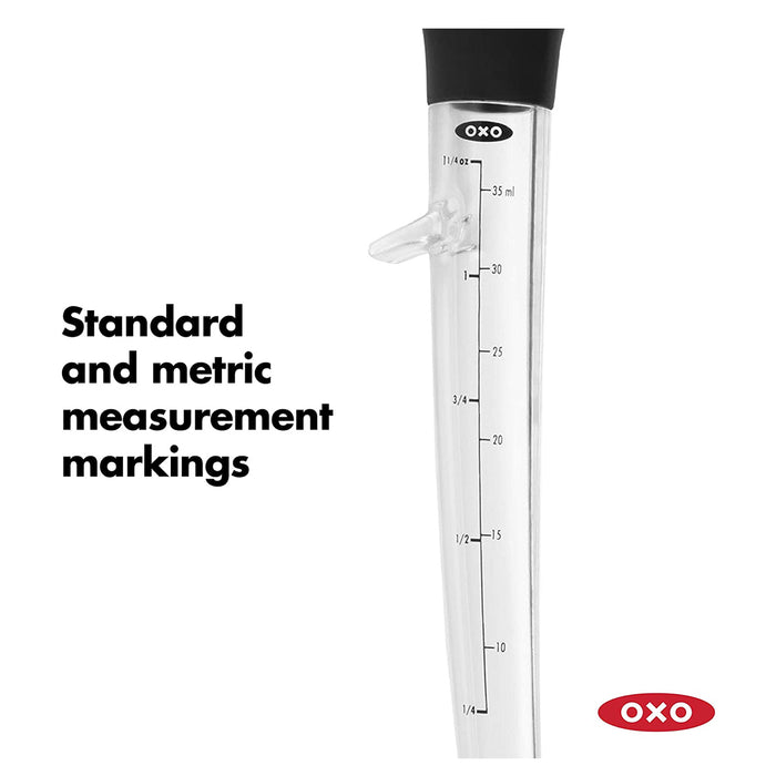 OXO Good Grips Angled Baster with Cleaning Brush - Image 3