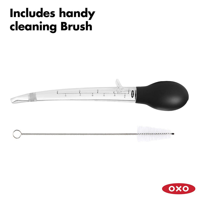 OXO Good Grips Angled Baster with Cleaning Brush - Image 5